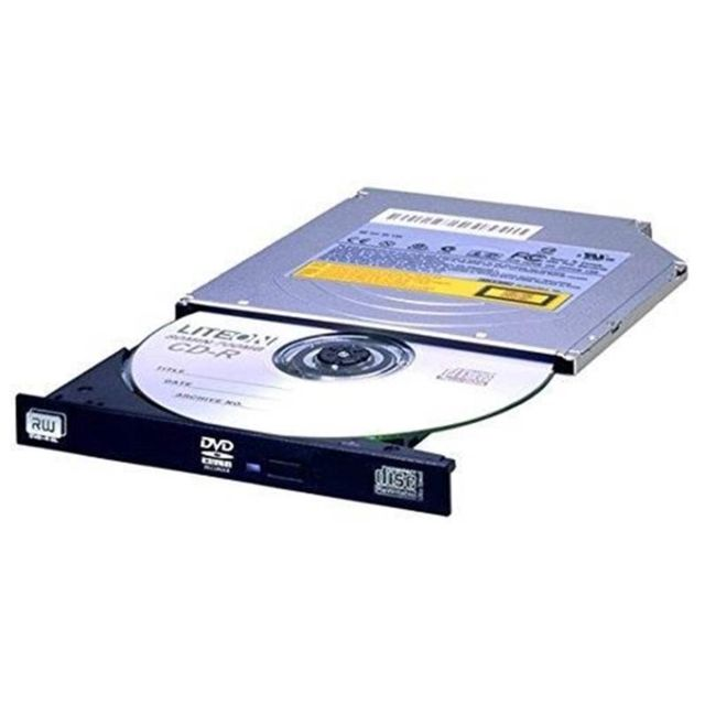 Lite-On - LITEON LIT DS-8ACSH Graveur Slim 12.7mm DVD RW 8X Bulk Black SATA Lite-On   - Graveur DVD Interne