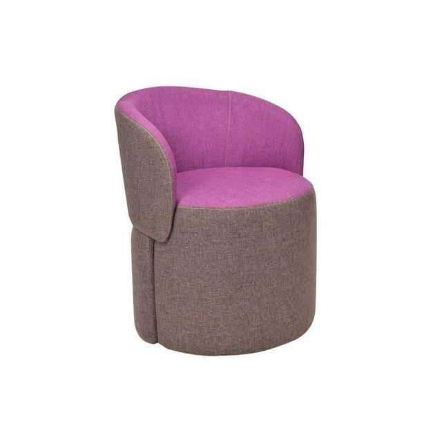 Wewoo - Canapés Enfants Mobilier Creative Stool SofaRoolRound Kids Sofa Chair Violet - Chaises