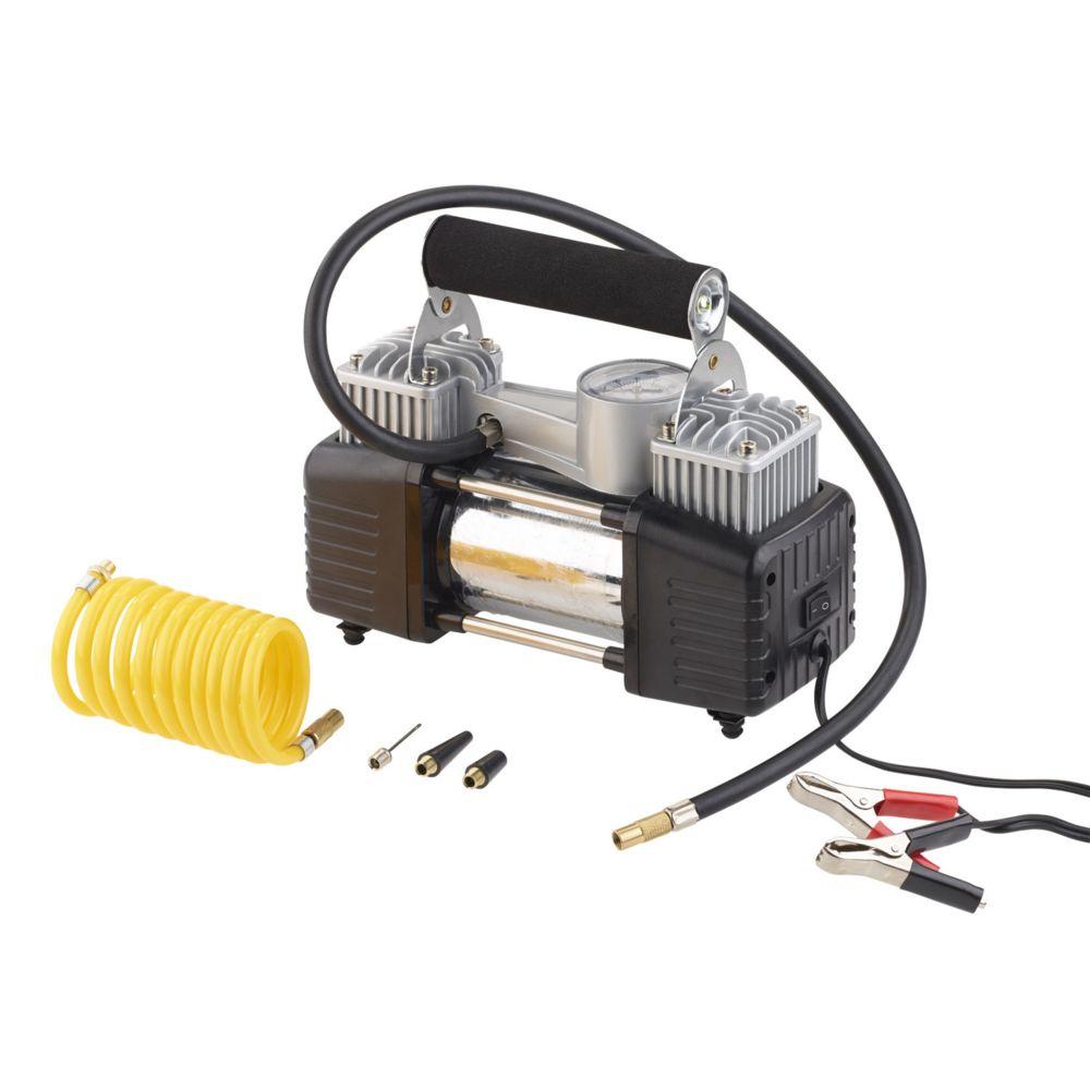 Hp Autozubehor Mini compresseur 12 V / 10 bar avec manomètre ? 55L/mn