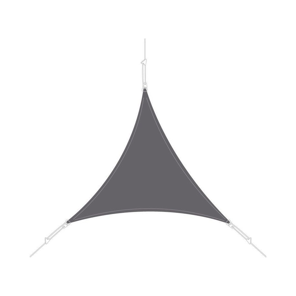 Easy Sail Voile d'ombrage triangle 4x4x4m