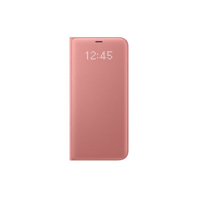 Samsung - LED View Cover Galaxy S8 Plus - Rose - Appcessoires