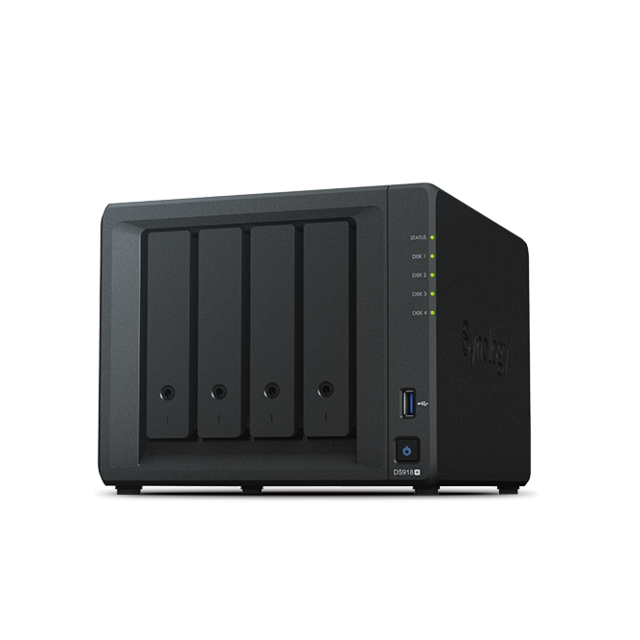 Synology - DS918+ - 4 baies - Synology