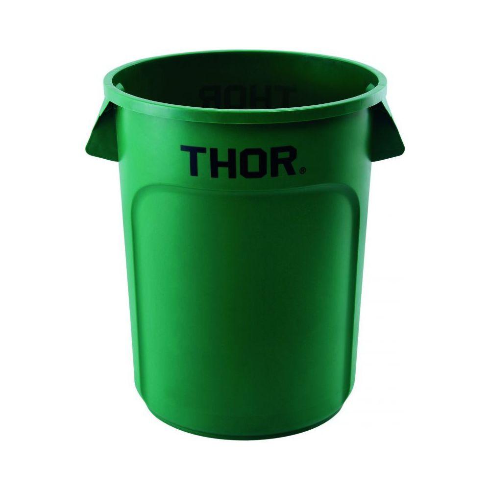 Materiel Chr Pro Poubelle Universelle Thor 120 L - Coloris au choix - Stalgast - 630 mm Vert Plastique