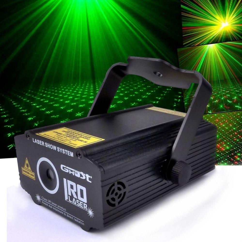 Ghost GHOST Laser ultra léger - Vert 50 mW + Rouge 100 mW effet strobe