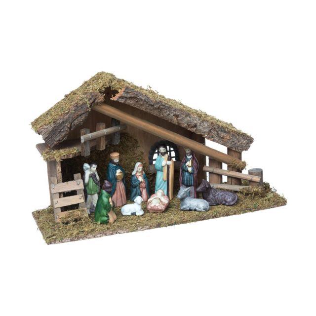 Village Et Creche De Noel Achat Decorations De Noel Sur Rue Du Commerce