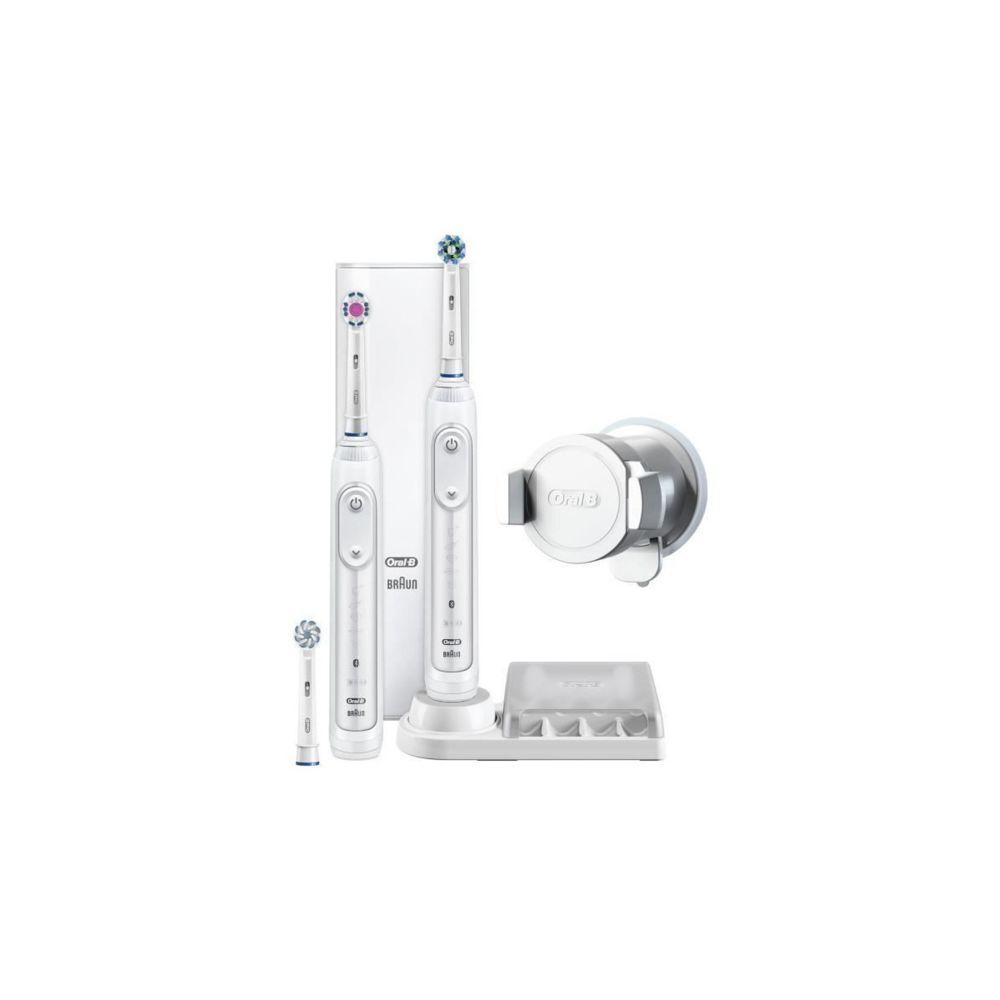 Oral-B Braun - Oral-b Genius 8900 Crossaction - Brosse A Dents Electrique - Rechargeable Par Braun