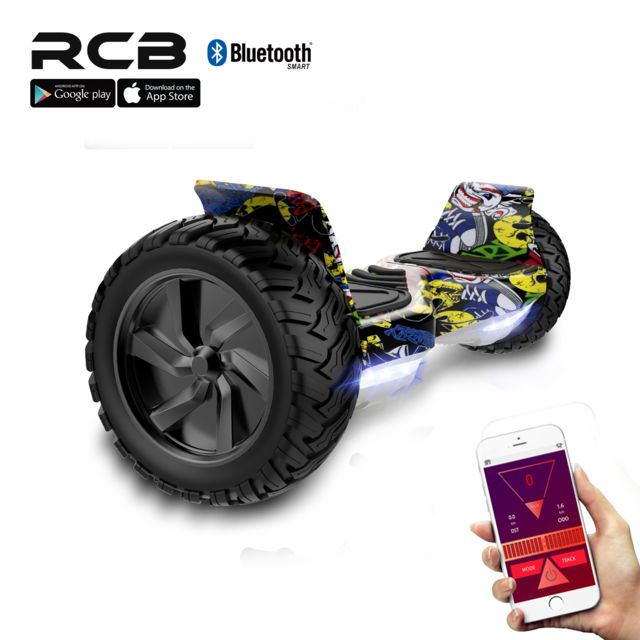 "Rcb - Hoverboard Tout Terrain 8.5"""", hoverboard Hummer SUV, Bluetooth et APP, 700W Rcb   - Gyropode, Hoverboard"