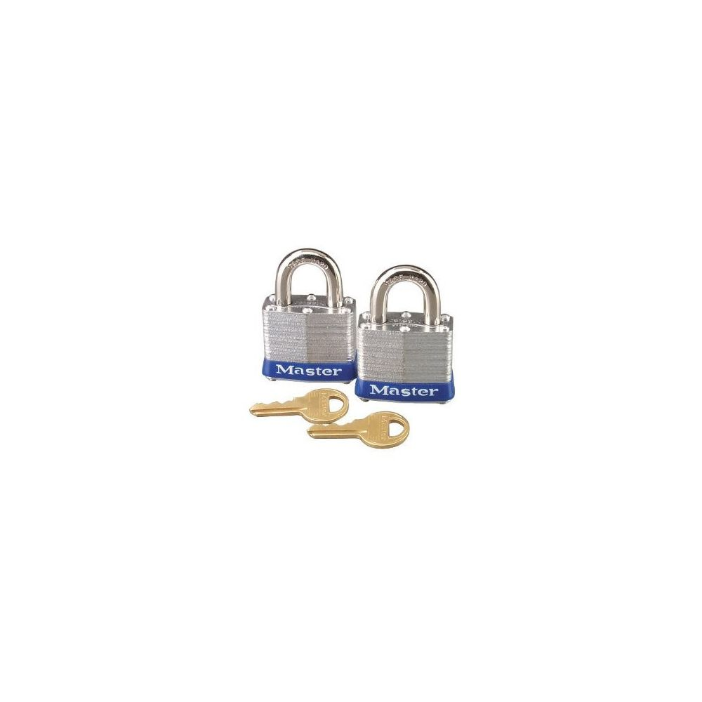 Master Lock Master Lock - 092786 - Lot de 2 cadenas étanches 38 mm