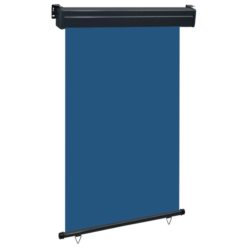 Vidaxl vidaXL Auvent latéral de balcon 120x250 cm Bleu