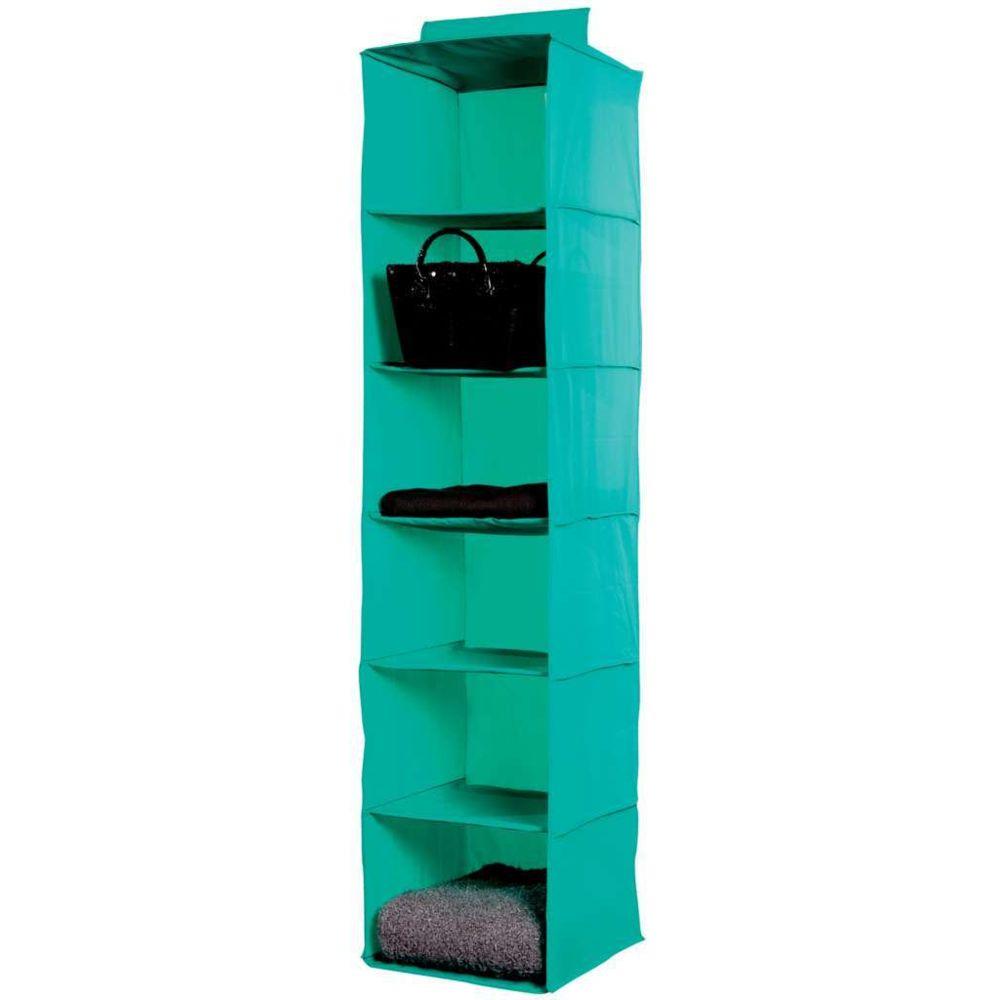 Compactor Etagère souple verte 6 niveaux