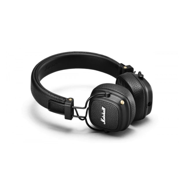 Marshall - Casque arceau Bluetooth Major III Marshall Noir - Marchand Sono energie