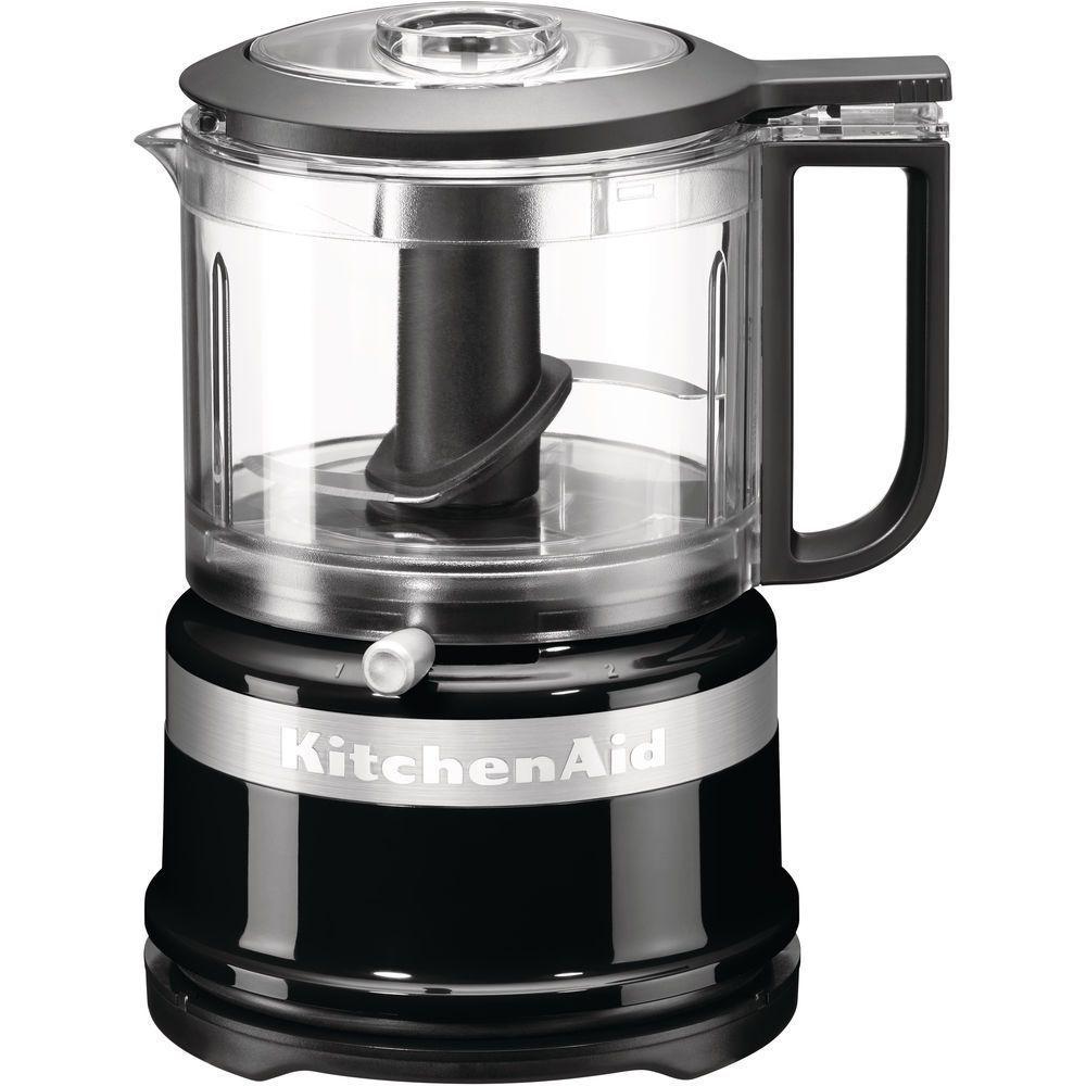 Kitchenaid kitchenaid - mini robot ménager 0.83l 240w noir onyx - 5kfc3516eob