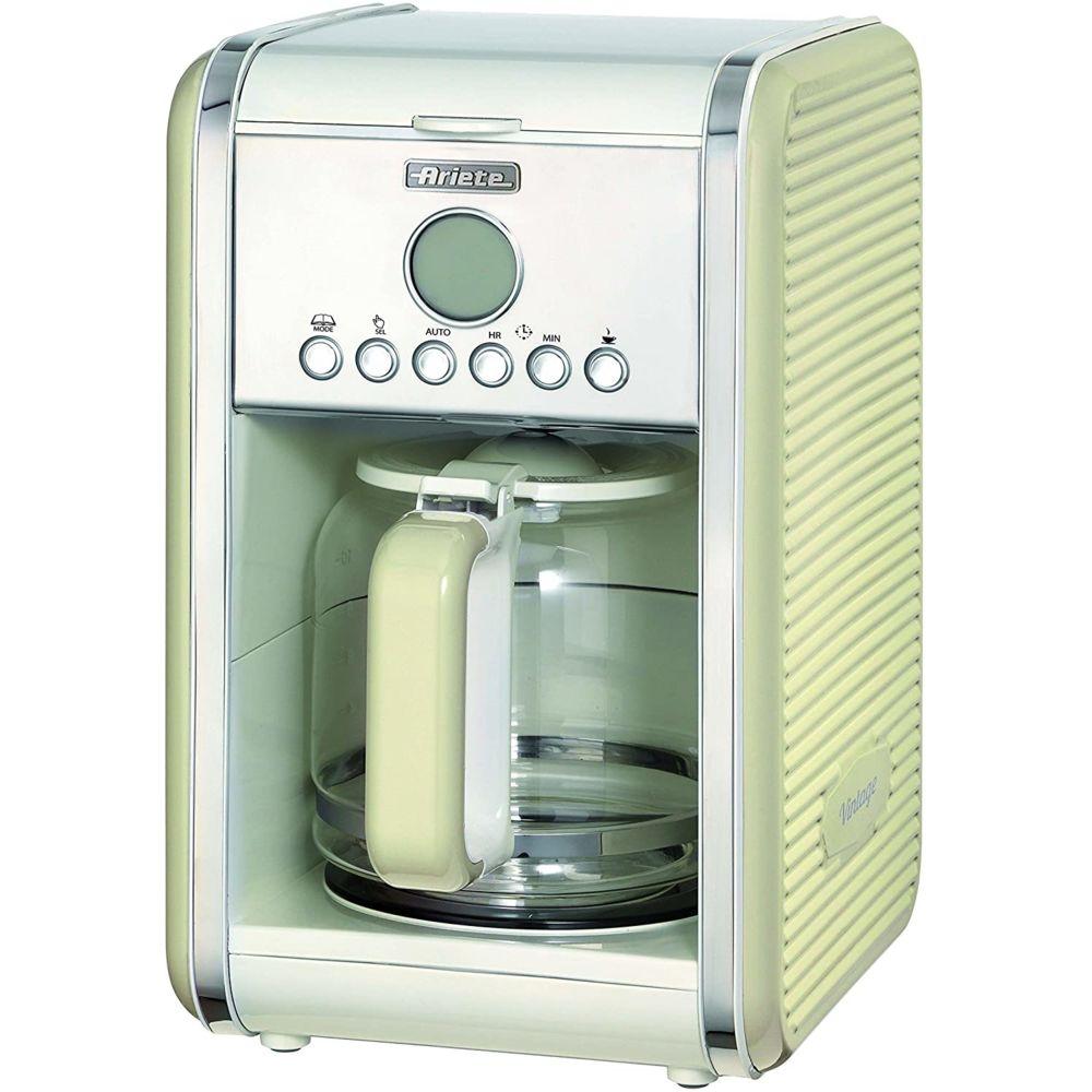 Ariete Machine à café américaine programamble pour 1,5L 2000W beige
