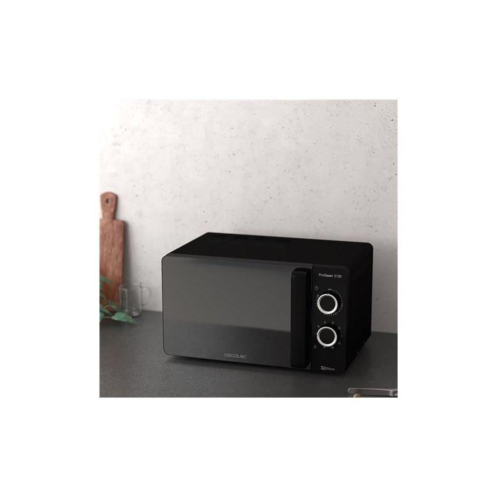 Cecotec Micro-ondes de 20L avec minuterie 1150W noir