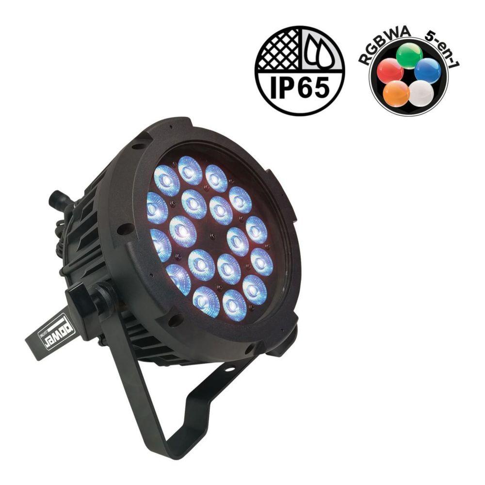 Power Lighting POWER LIGHTING - PAR SLIM 18x10W IP65 PENTA40 - Par slim 18 leds de 10W 5en1