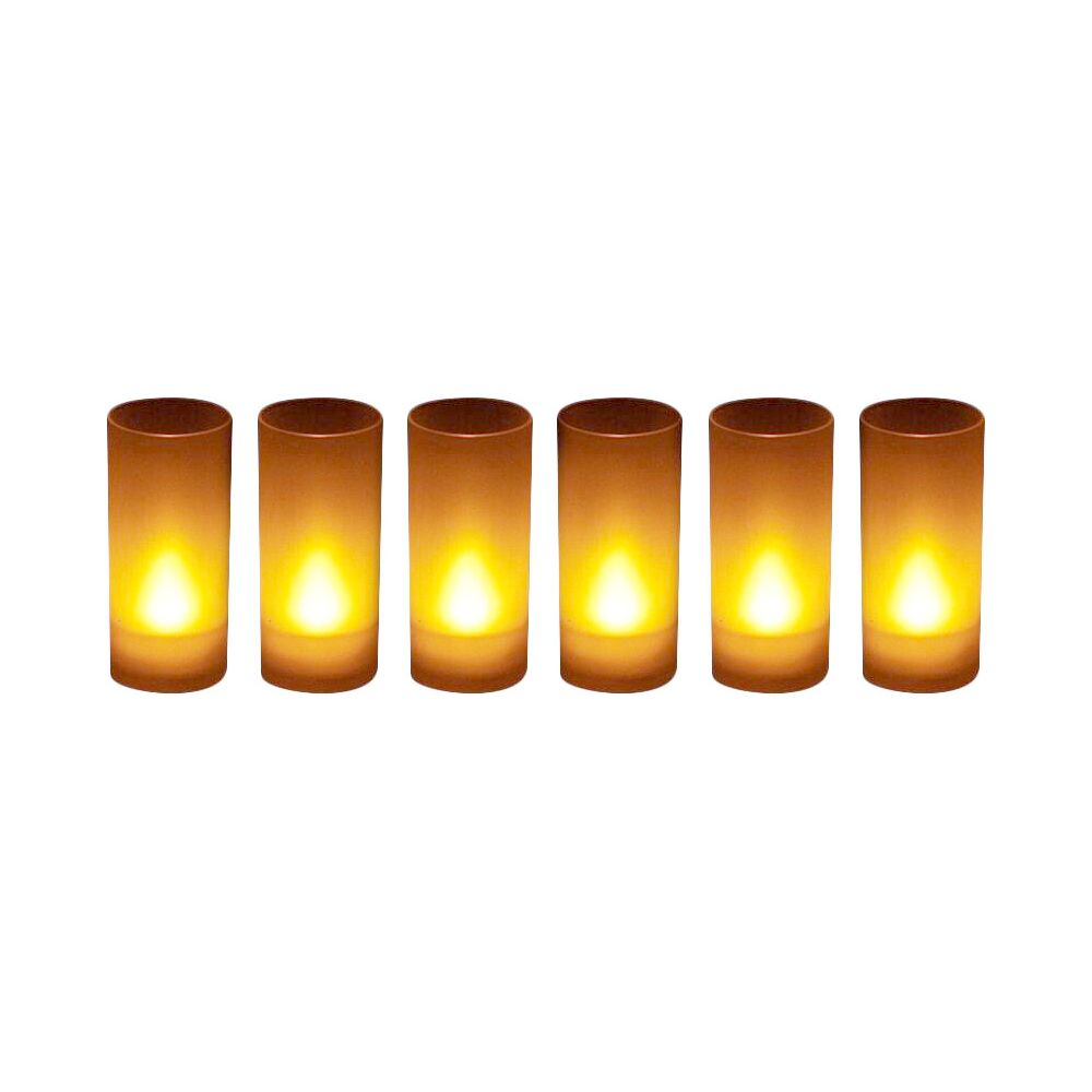 Zen Bougies LED souffle (Lot de 6)