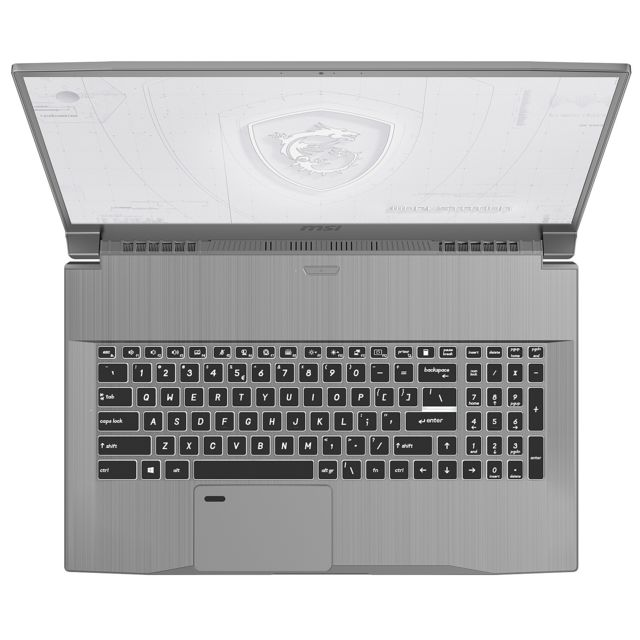 Msi Work Station WF75-10TK-244FR - Gris