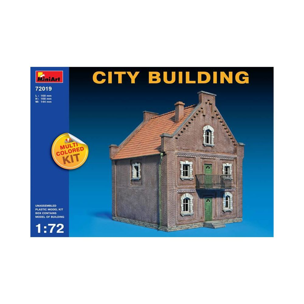 Mini Art City Building - Décor Modélisme
