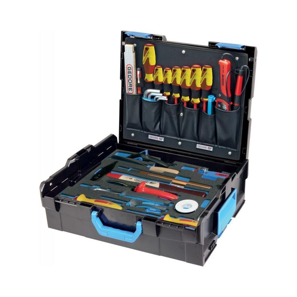 Gedore Coffret outils pour électricien 36 pièces L-Boxx 136 Gedore
