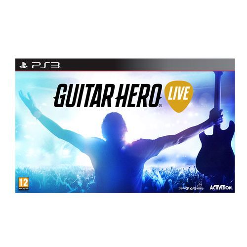 Activision -GUITAR HERO LIVE vf    PS3 Activision  - Activision