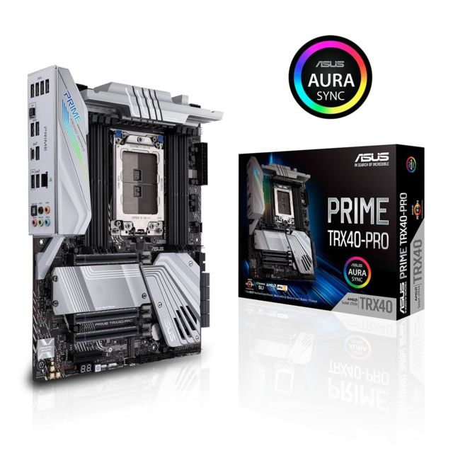 Asus - TRX40 - ROG ZENITH II EXTREME - Carte Mère