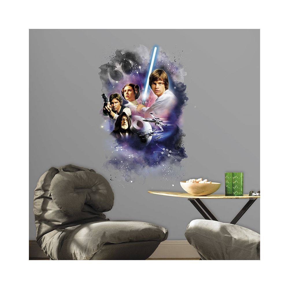 Mon Beau Tapis STAR WARS CLASSIC GRAPHIC - Stickers repositionnables Star Wars