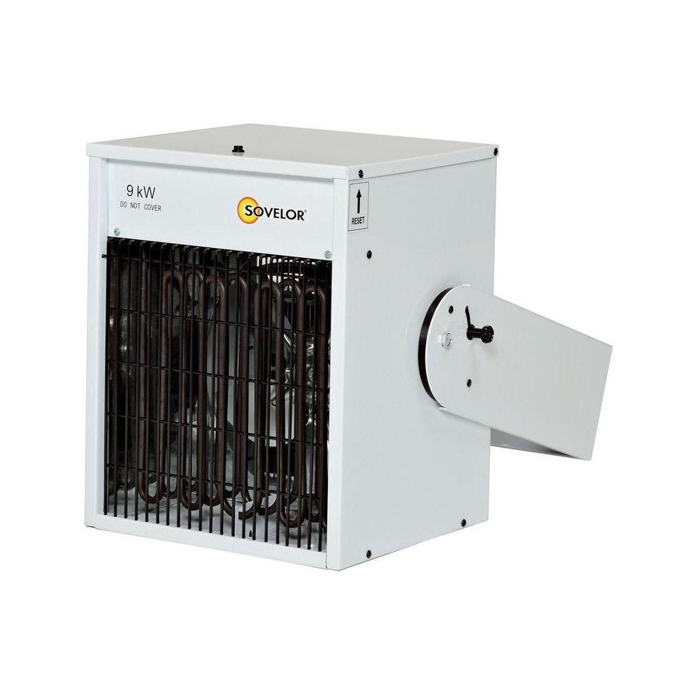 Sovelor Sovelor - Aérotherme mural électrique à suspendre MAX: 9 KW (installation triphasé) - TR9C