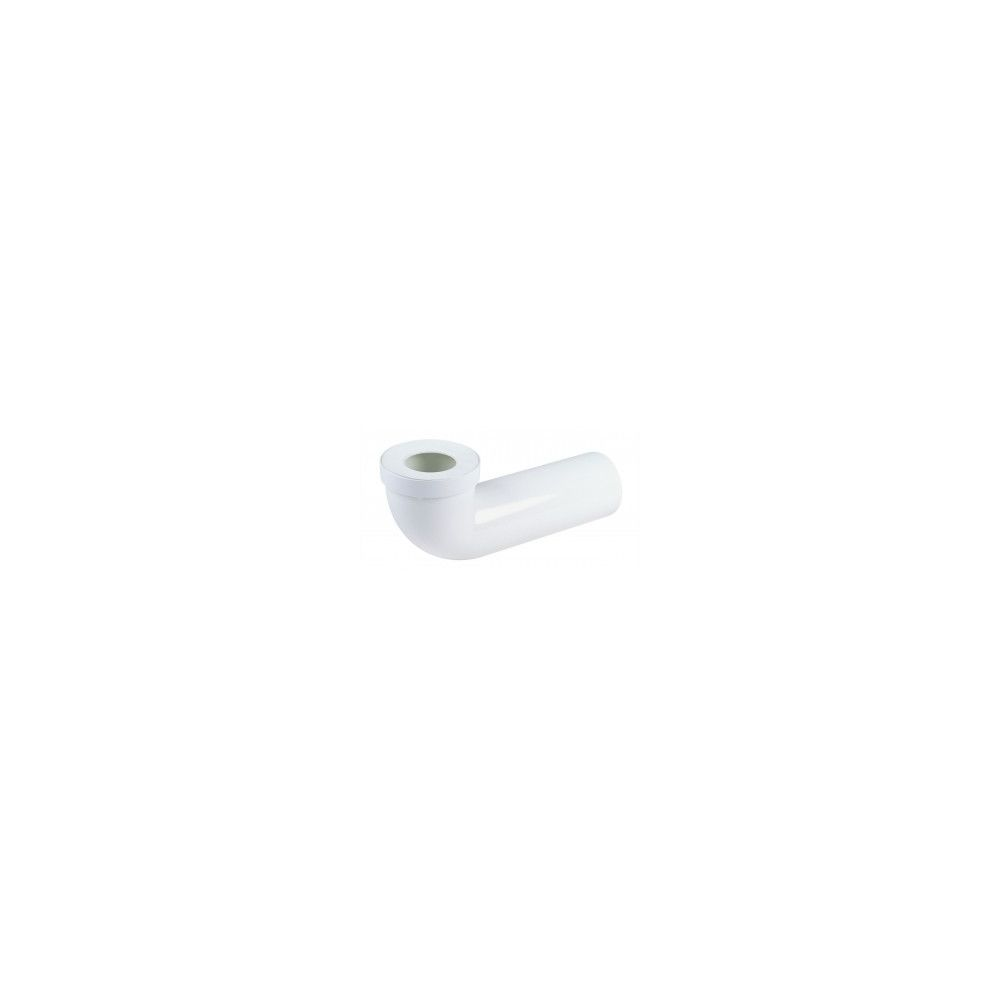 Nicoll Pipe longue pour WC Ø 85/107 mm - CTW5540 - PVC blanc - raccord Ø 93 mm - L. 400 mm