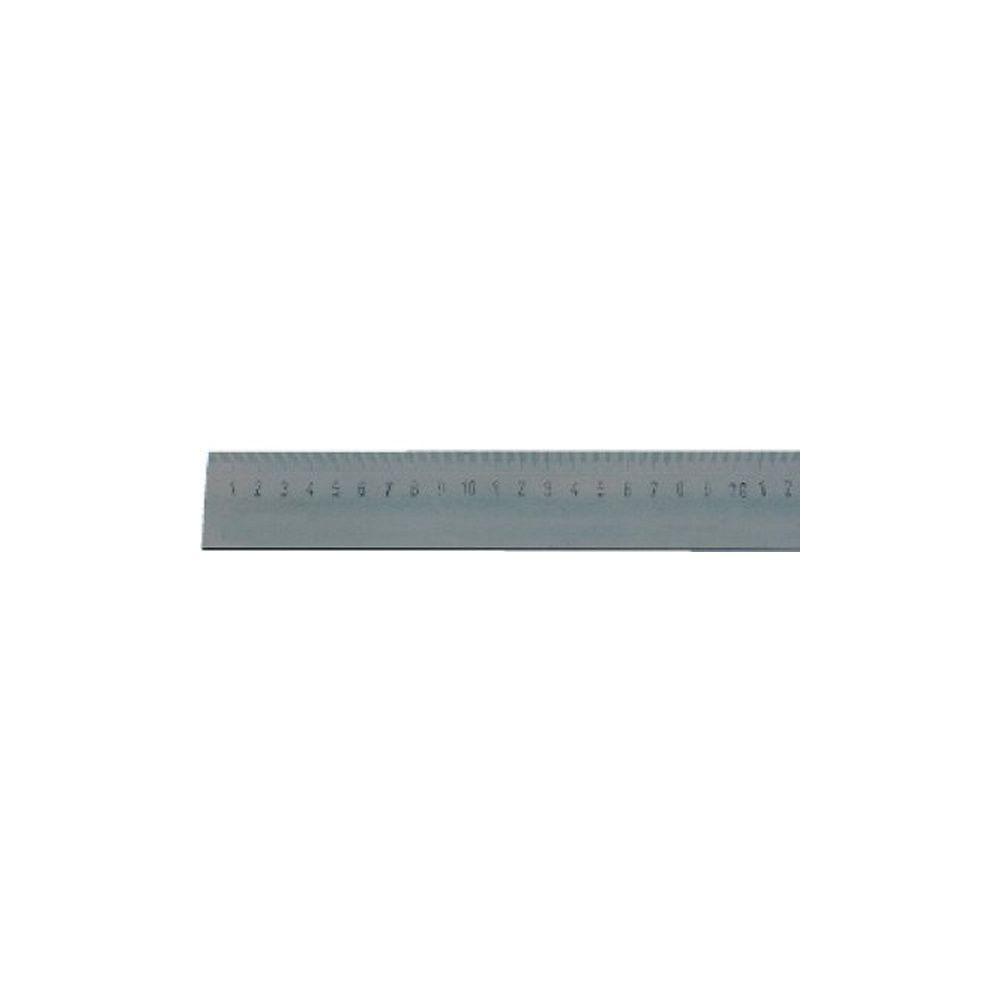 Forum Règle en acier, Long. : 1000 mm, Larg. : 40 mm, Epaisseur 5 mm