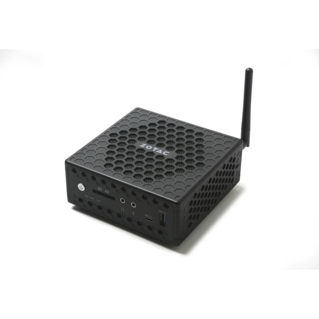 Zotac - Mini PC ZBOX NANO FANLESS - ZBOX-CI329NANO-BE-W3C - PC Fixe