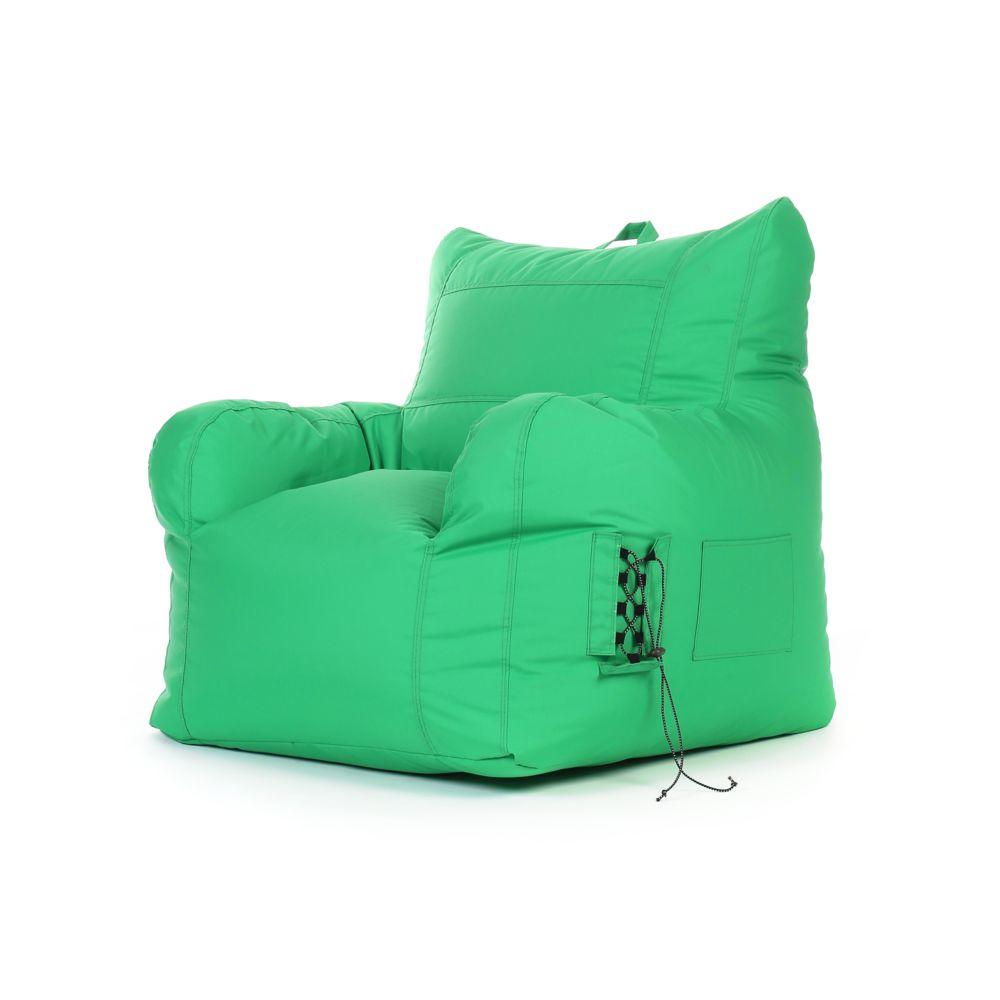 Rendez Vous Deco Fauteuil enfant Noda intérieur/extérieur vert