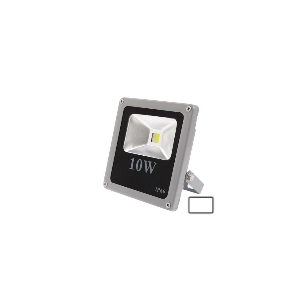 Wewoo Projecteur LED Lampe de de lumière blanche imperméable de la puissance élevée 10W LED, CA 85-265V, flux lumineux: 900lm