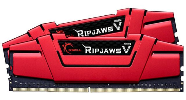 G.Skill - Ripjaws V - 2 x 8 Go - DDR4 2666 MHz CL15 - Rouge - RAM PC