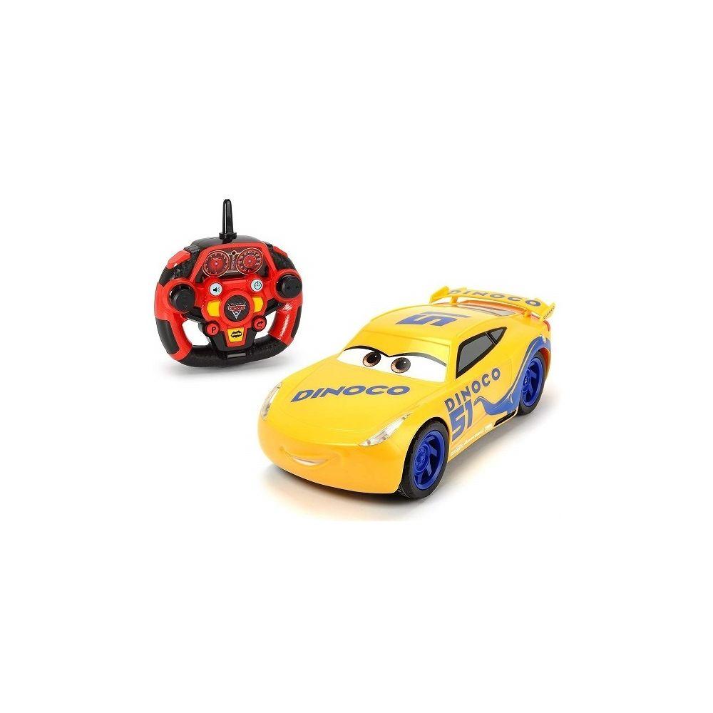 Dickie Dickie Toys- RC Cars 3 Ultimate Cruz Ramirez Voiture de Course avec télécommande Radio à 3 canaux, 203086006
