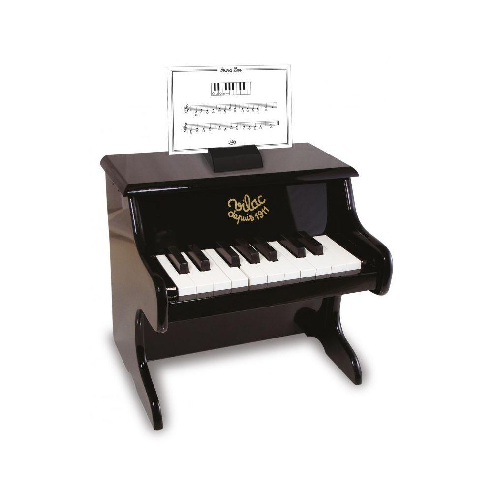 Vilac Piano noir avec partitions