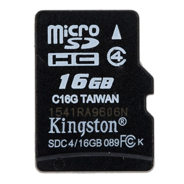 Generic - Véritable Original Kingston Class 4 8 16 GB MicroSDHC TF Flash vitesse minimale de 4 MB/s carte mémoire avec adaptateur - Carte SD