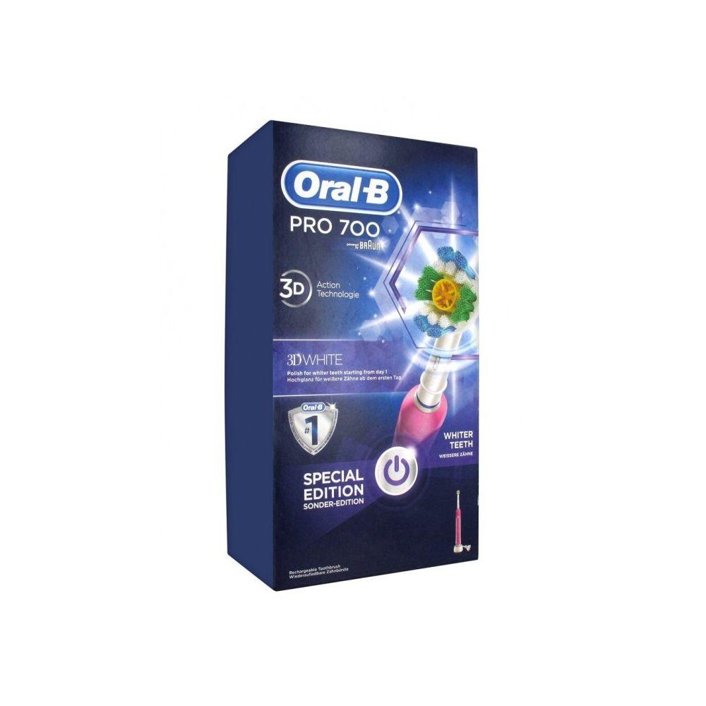 Oral-B Oral-B Pro 700 3D White and Clean Brosse à Dents Electrique