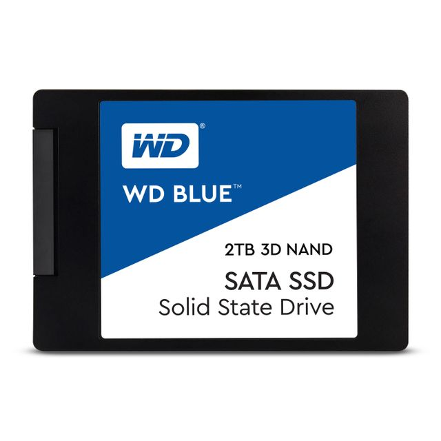 Western Digital - WD BLUE 2 To 2.5'' SATA III (6 Gb/s) - SSD 2,5'' SATA
