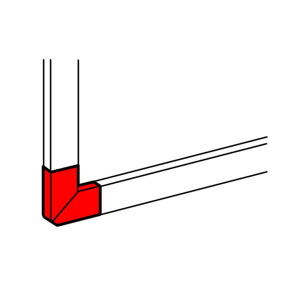 Legrand angle extérieur pour goulotte 195 x 65 mm - blanc - legrand dlp 010793