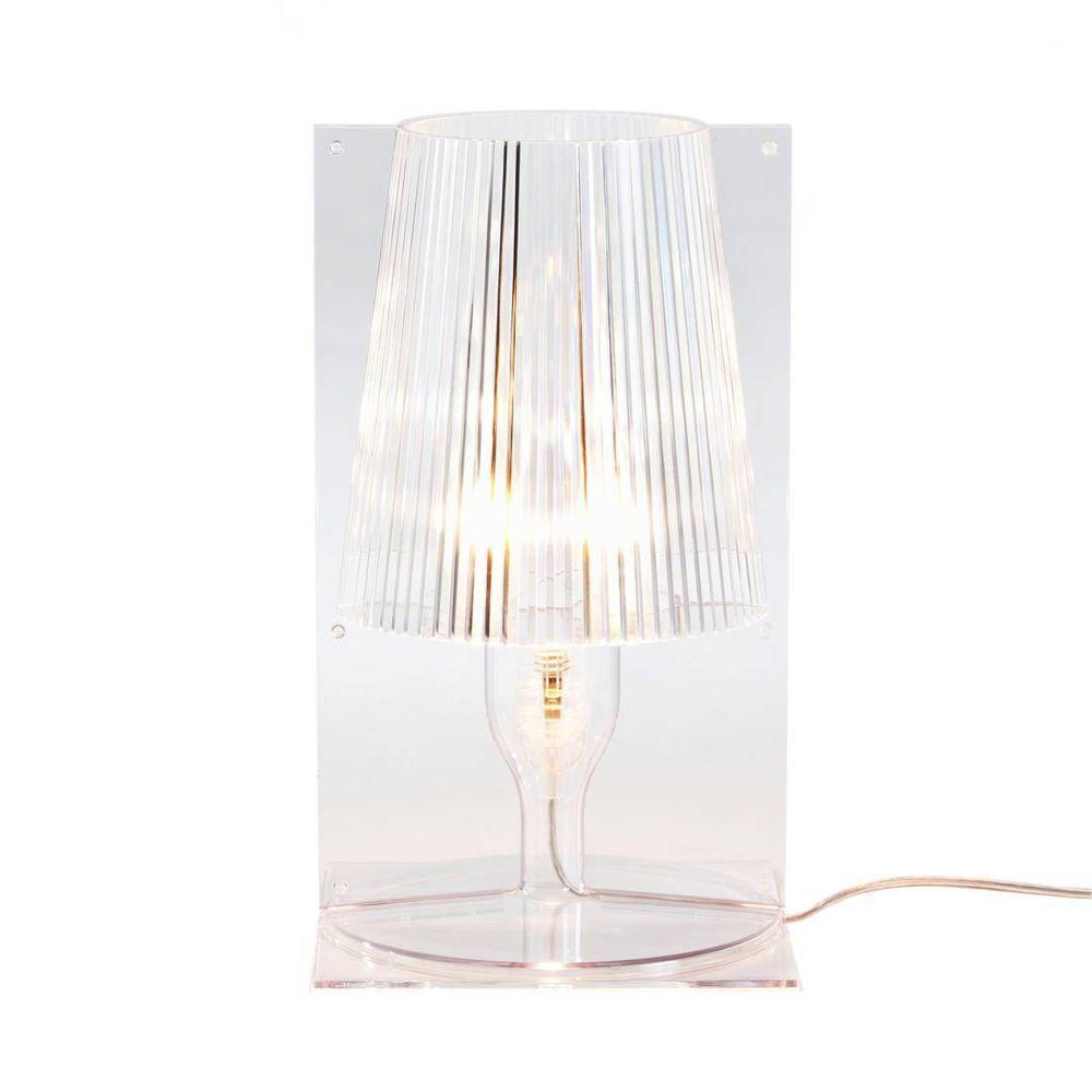 Kartell TAKE - Lampe à poser Transparent H30cm