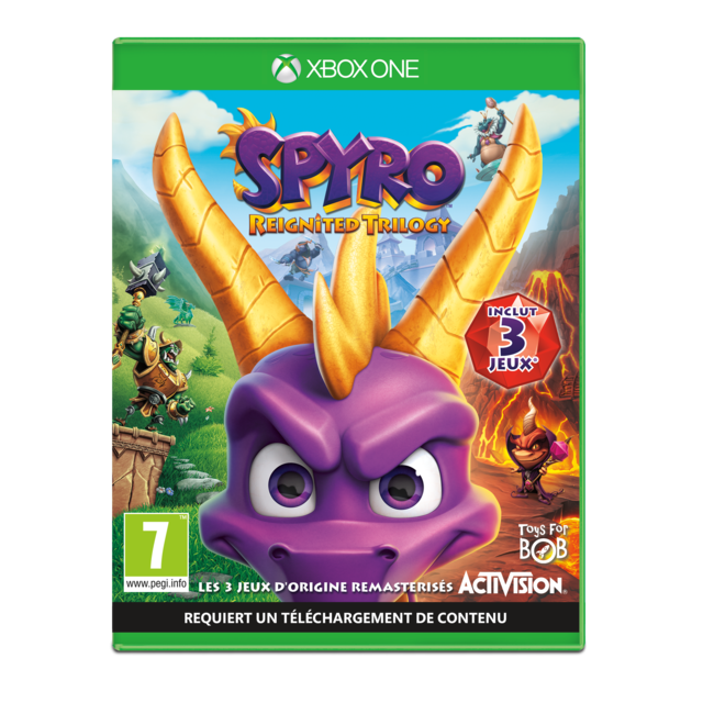 Activision - Spyro Reignited Trilogy - Jeu Xbox One - Activision