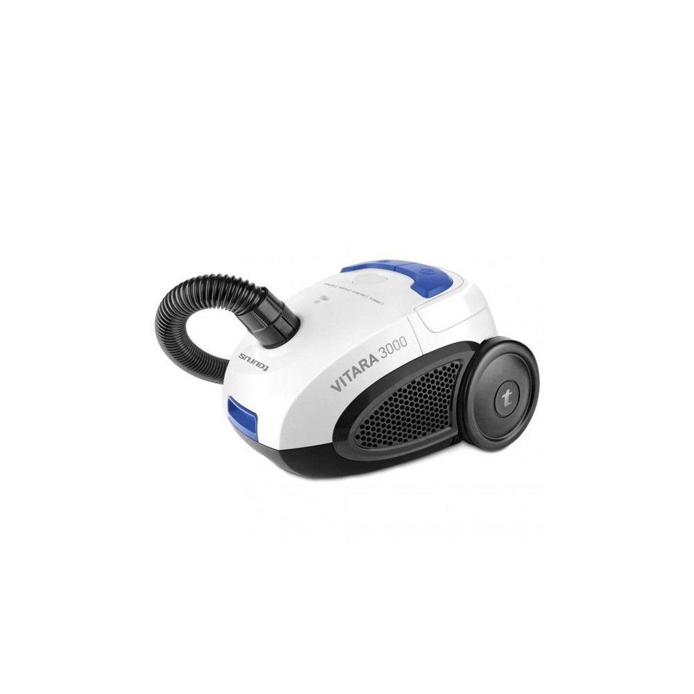Totalcadeau Aspirateur à sacs 2 L 800W 80 dB (B) Noir Bleu Blanc - Aspirateur maison