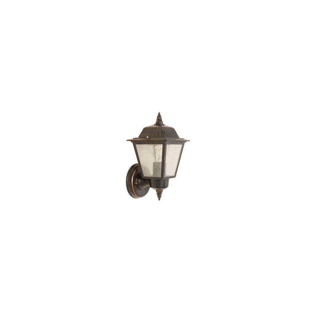 Garden Lights Applique Highnam 1x60W Noir et cuivre