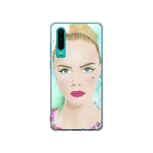 Apple - Coque Huawei P30 Flower Power - AlekSia - Accessoires pour Smartphone Huawei P30