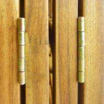 No Name   Séparateurs De Pièces Magnifique Cloison De Séparation à 4  Panneaux Bois Du0027
