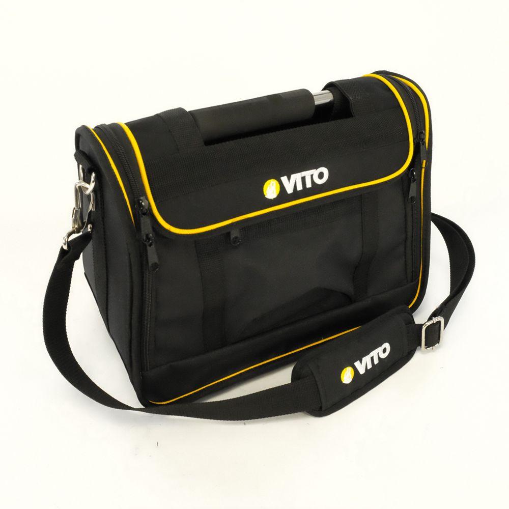 Vito Pro-Power Boite à outils Sacoche VITO Professionnelle Poignée acier renforcée Nylon haute Qualité Sac bandoulière