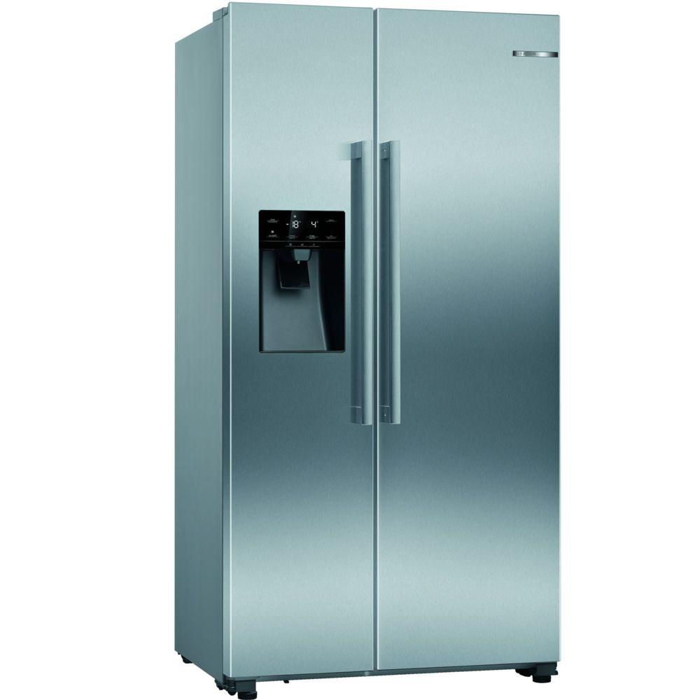 Bosch bosch - réfrigérateur américain 91cm 533l a+ nofrost inox - kad93vifp