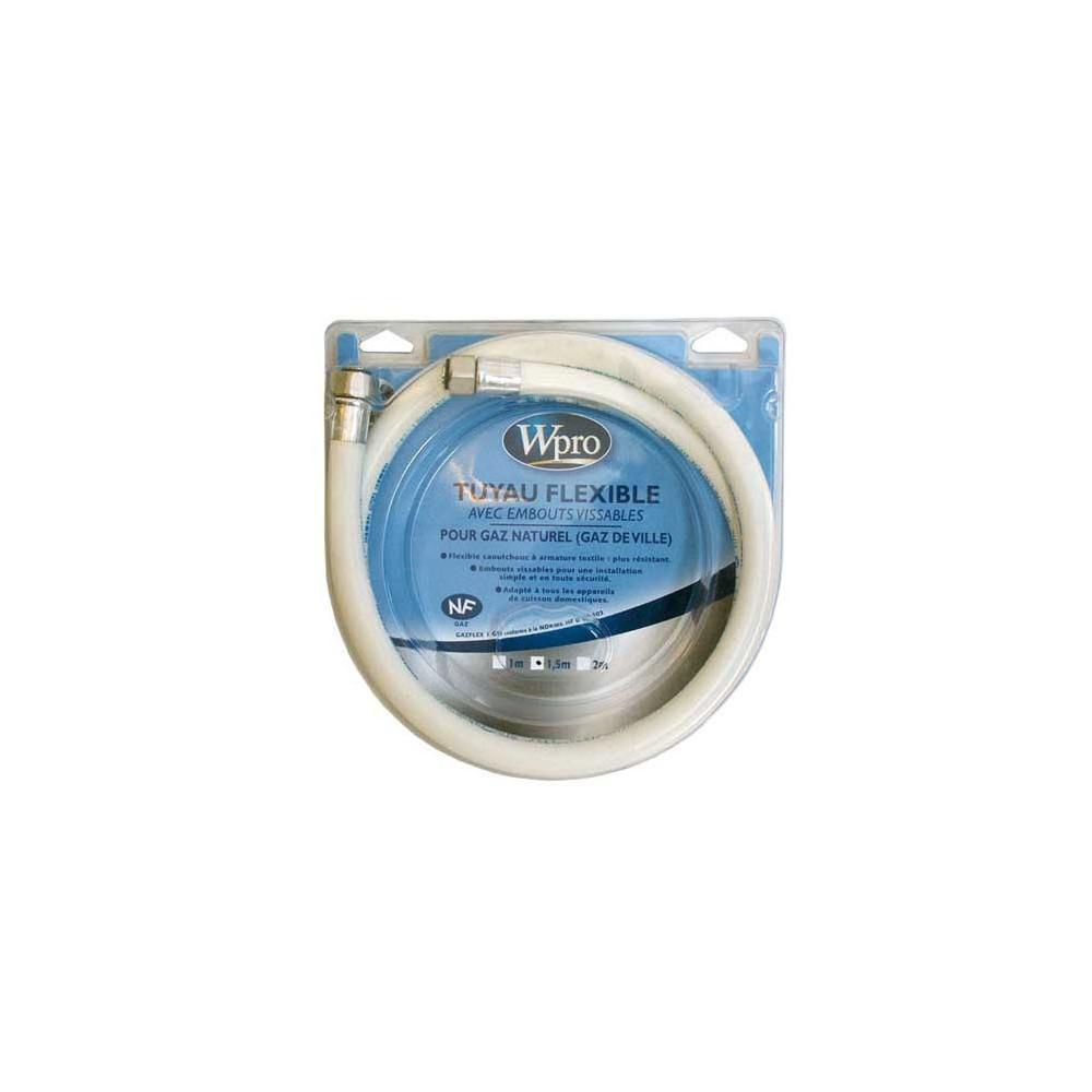 whirlpool TUYAU GAZ NATUREL 1.50 METRE POUR INSTALLATION WHIRLPOOL - 481981729009