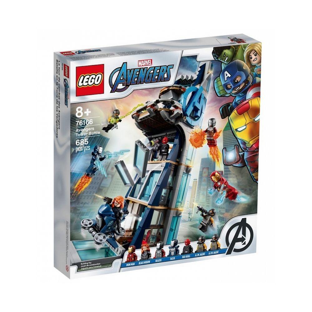Lego 76166 La tour de combat des Avengers LEGO Marvel