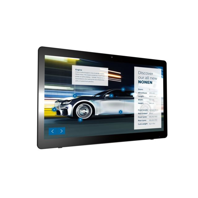 Philips - Philips Signage Solutions Écran tactile multipoint 24BDL4151T/00 - Ecran PC Tactile